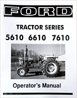 ford    series tractor owners instruction