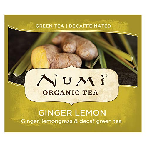 Numi Organic Tea Green Tea Box
