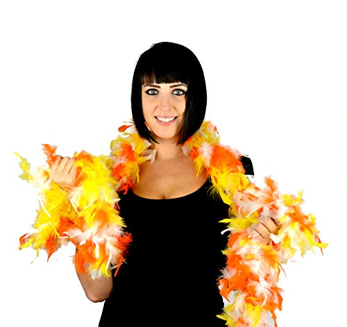 Candy Corn Turkey (Touch of Nature 36216 Chandelle Boa, Candy)