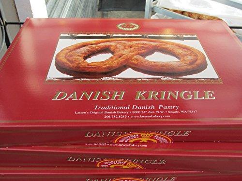 Larsens Bakery Danish Kringle, Various Flavors, Serves 12 (Pecan)