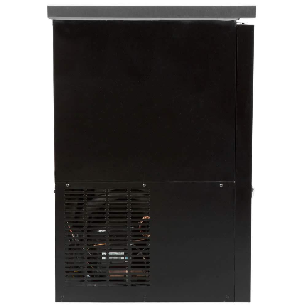 NEW XILTEK 48/″ TWO DOOR BACK BAR BEER COOLER REFRIGERATOR