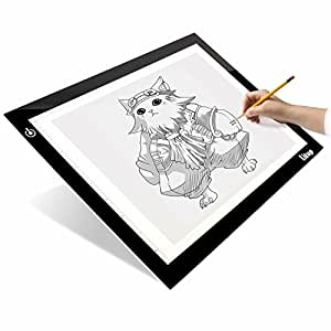 Litup light box light pad 17 7 inch a4 size for Lightbox amazon