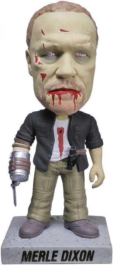 The Walking Dead Walker Merle Zombie Wacky Wobbler Bobble Head NEW