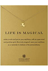 Dogeared Life Is Magical-Unicorn Necklace, 16""