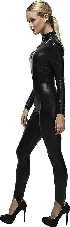 XGNL Donna Catwoman Costumi di Carnevale Catsuit con Coda A Maniche Lunghe  Tuta con Zip Costume Cosplay Travestimenti Halloween Vestito  Amazon.it   Sport e ... 3e6d93a983c2