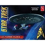 "AMT amt955Maßstab 1: 1400Modell ""Star Trek USS Enterprise 1701-D–Clear Edition"