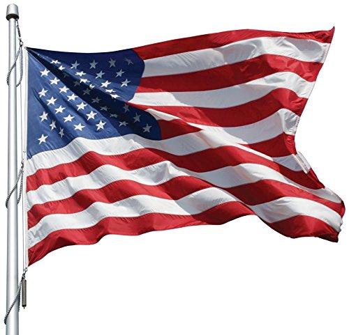 12x18' Nylon Flag - American Flag 12x18 Ft Nylon Presidential Series Sewn 12'x18' US Flag