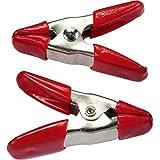 HTS 104S1 100 Pc Mini Metal Spring Clamp Set