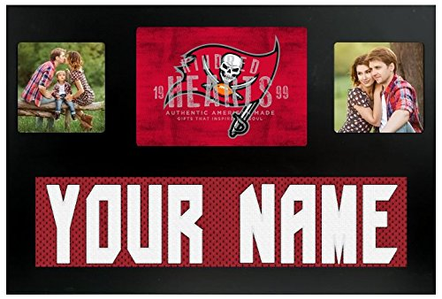 Tampa Bay Buccaneers NFL Custom Jersey Nameplate and Logo Picture Frame (Tampa Bay Buccaneers Picture Frame)
