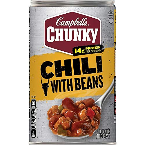 - Campbell's Chunky Roadhouse Beef & Bean Chili 19 Oz (Pack of 4)