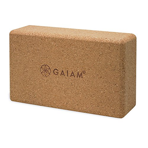 Gaiam 05 52292 Cork Yoga Brick