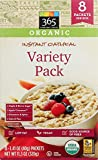 365 Everyday Value, Organic Instant Oatmeal, Variety Pack, 8 ct