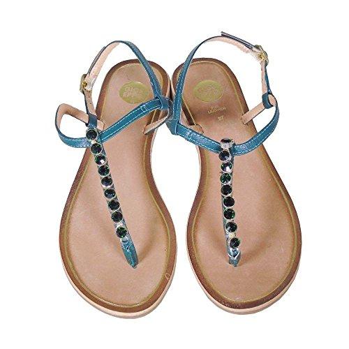 Vert Gioseppo Verde Sandales pour femme qqPOAtB