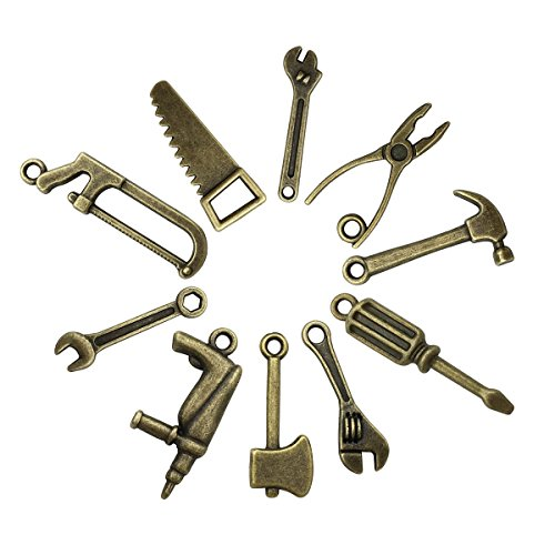 The 10 best jewelry making supplies charms carpenter tools for 2019