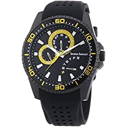 Bruno Banani Men's Quartz Watch Shiva BR22008 with Rubber Strap