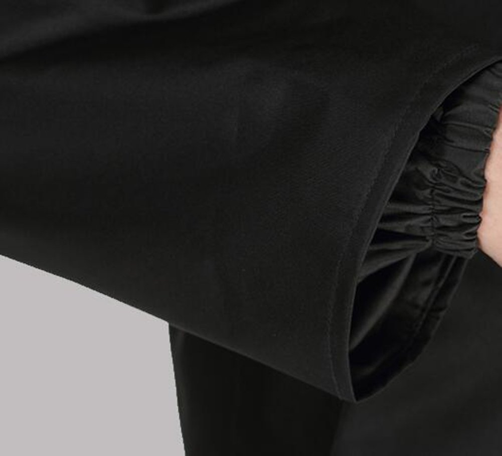 Protector de la Guardia de Seguridad Extendido de Vigilante de Soltero Adulto Soltero ZSSHJ Chubasquero Color : Cyan, Tama/ño : L