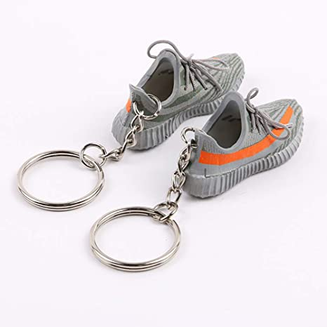 0c2b8a751305f Amazon.com  Mini Sneaker 3D Keychain Figure 1 6 with Box and Bag ...