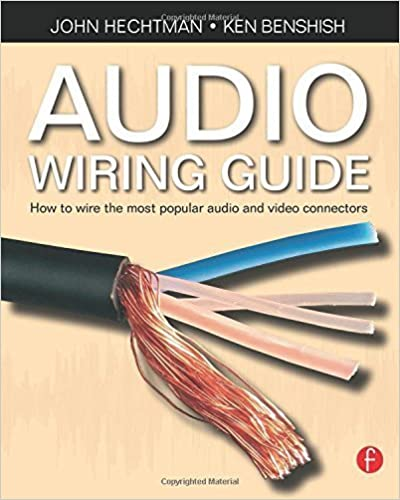 Book Audio Wiring Guide: How to wire the most popular audio and video connectors by John Hechtman (2008)