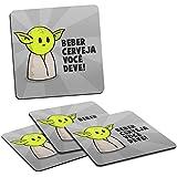Porta Copos Star Wars Yoda