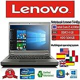 Portátil Lenovo T440p Intel i5 4300 M/4GB/500GB/DVD + RW/