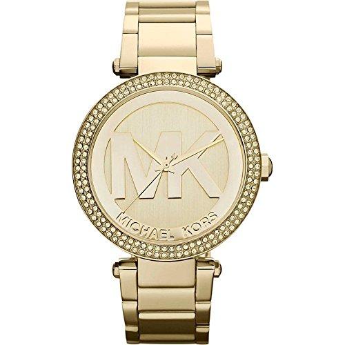 Michael Kors Women's Parker Gold-Tone Watch MK5784
