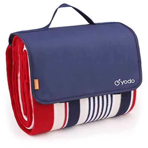 yodo Extra Large Outdoor Waterproof Picnic Blanket Tote 79
