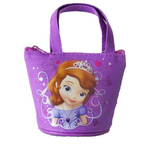 - Disney Princess Sofia Mini Coin Purse (Purple)