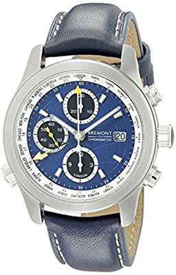 Bremont Men's Alt1 - WT/BL Analog Display Swiss Automatic Blue Watch
