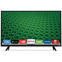 VIZIO D32x-D1 D-Series 32 Class Full Array LED Smart TV (Black) (Certified Refurbished)