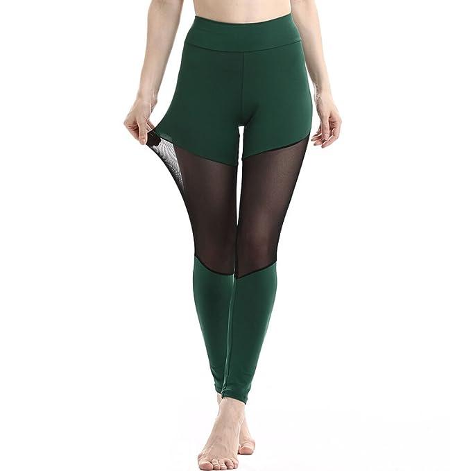 f70d345c5c8 Leggings Deporte Mujer Mallas Fitness Mujeres Pantalones Cintura Altura  Polaina Gym Mujer Pantalon Yoga Sexy Leggings