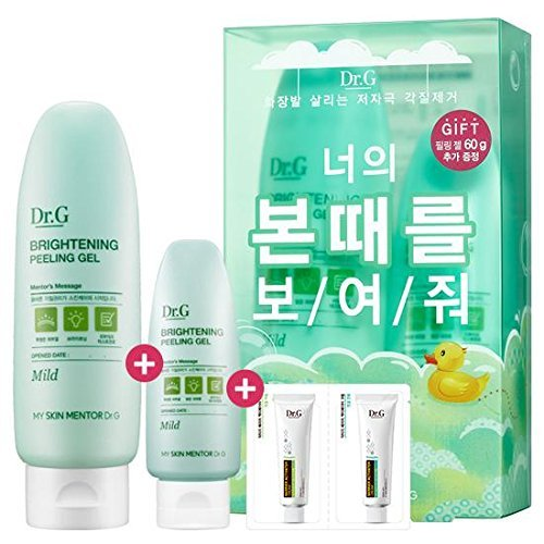 Dr.G Gowoonsesang Brightening Peeling Gel Special Edition 180g (120g+60g) with Dr.G Barrier Activator Cream Sample 2ml