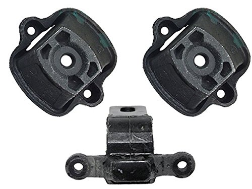 for Mercedes 240-D (early) Engine Support KIT (3 pcs)