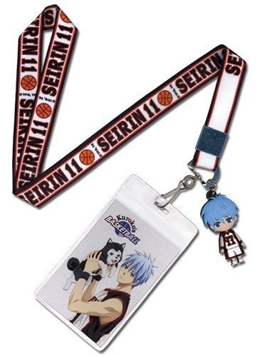 Great Eastern Entertainment Kuroko's Basketball - Tetsu Lanyard by Great Eastern Entertainment
