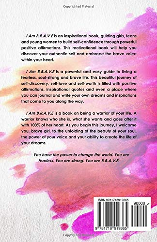 Buy I Am Brave Soul Strong Living For Girls Book Online At Low