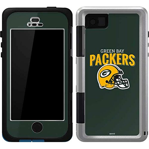 (Skinit Green Bay Packers Helmet OtterBox Armor iPhone 5/5s/SE Skin for CASE - Officially Licensed NFL Skin for Popular Cases Decal - Ultra Thin, Lightweight Vinyl Decal Protection)
