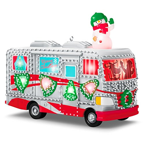 [Hallmark 2016 Christmas Ornaments Crazy Christmas Camper] (Crazy Christmas Hats)