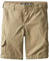 Dickies Boys' Washed Rip Stop Cargo Short