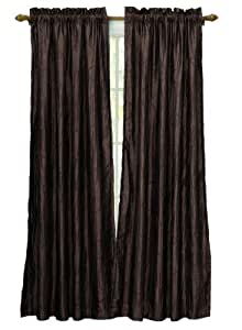 VCNY Nathan Lined and Interlined Panel- 52-Inch By 84-Inch, Brown