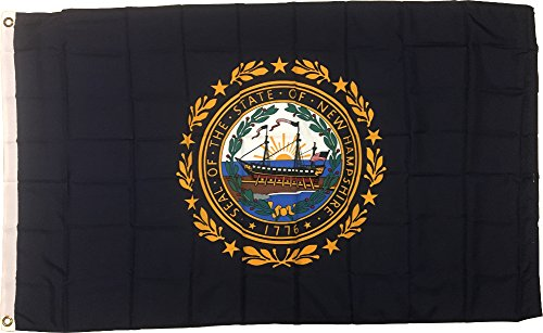 3x5 New Hampshire State Flag US USA American Flags NIP