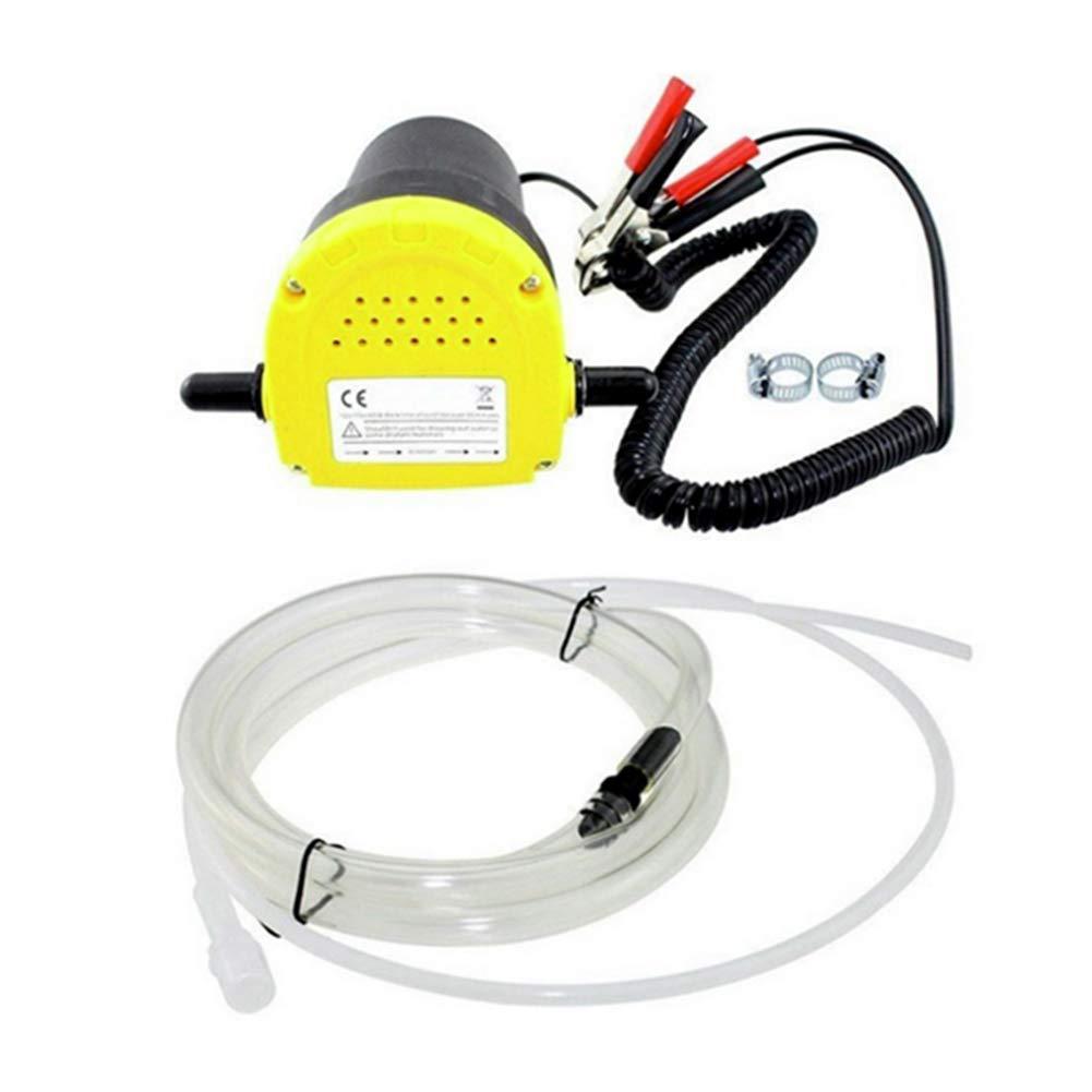 Bomba de Aceite el/éctrica Profesional Barco Bomba de Transferencia de succi/ón con Tubos para Coche Equickment Bomba de extracci/ón de Aceite Coche