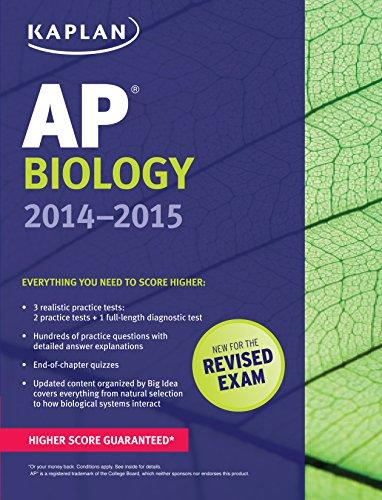 Kaplan AP Biology 2014-2015 (Kaplan Test Prep)