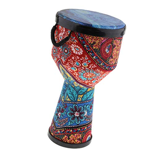 - Baosity 8'' Djembe Bongo African Hand Drum Musical Handheld Percussion Instrument for Kids Adults Gift