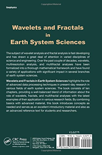 wavelets and fractals in earth system sciences dimri v p ch andrasekhar e gadre v m