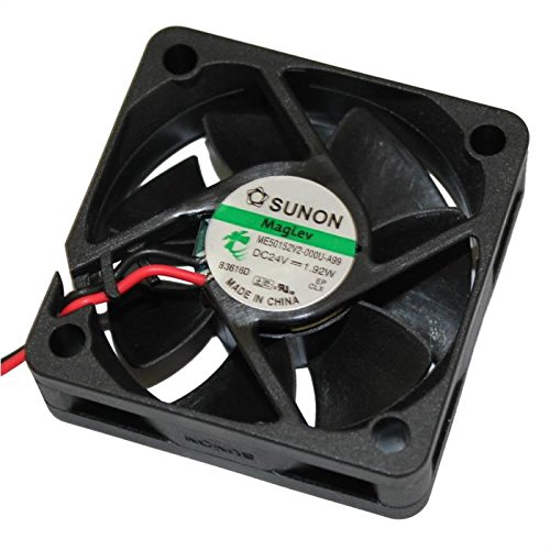 Ventilateur 24V 1,91W 50x50x15mm 27,3m/³//h 36dBA ; Sunon ME50152V2-A99 Fan