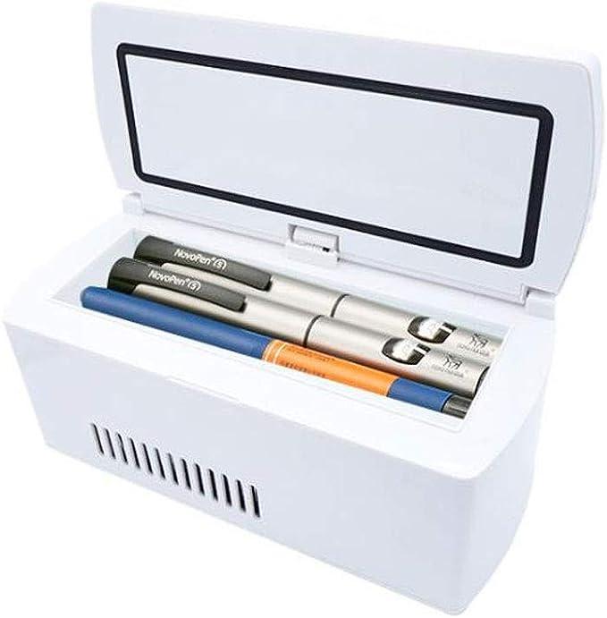 Insulina neveras medicamentos, La insulina Estuche de Viaje más frío, Coches Mini portátil de Viaje médico de la insulina Caja del refrigerador, una Nevera pequeña: Amazon.es: Equipaje