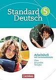 Standard Deutsch: 5. Schuljahr - Arbeitsheft mit Lösungen