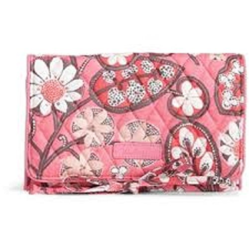 (Vera Bradley All Wrapped Up Jewelry Roll in Blush Pink)