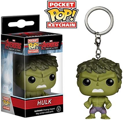 Hulk Thor Ragnarok Pocket Pop Keychain Official Marvel Funko Pop Keyring