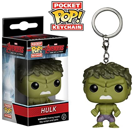Marvel Hulk 2 Action Keychain Funko Avengers Figure Pocket 5AL34qcRj