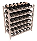 Wine Racks America Ponderosa Pine 36 Bottle Stackable. 13 Stains to Choose From!